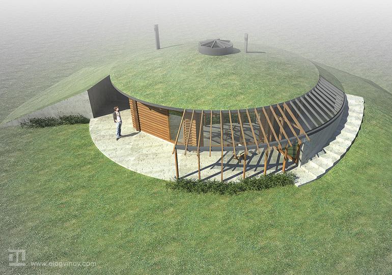 Как построить дом лисья нора